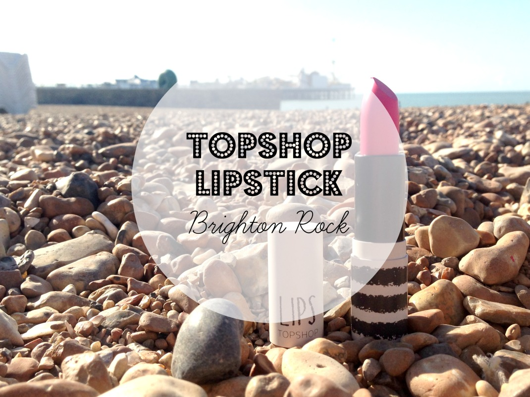 Topshop Brighton Rock Cover