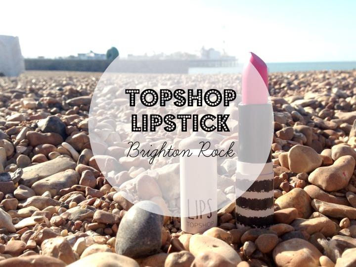 Topshop Brighton Rock Cover