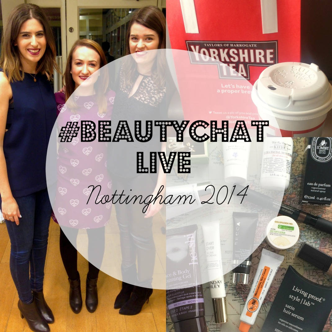 #beautychatLIVE COVER